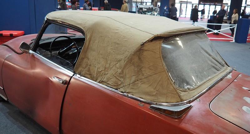 Citroen DS 19 cabriolet, conversion ailes Pichon-Parat 1961  26516133208_629c5a9c30_c