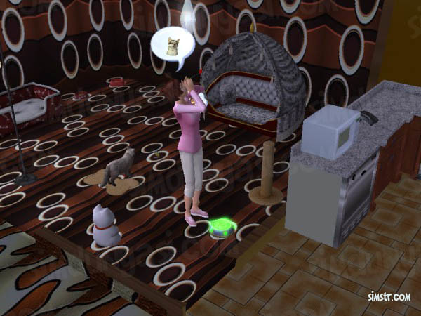 The Sims 2 Pets Magic Bowl Sihirli Mama Elixir of Life for Pets