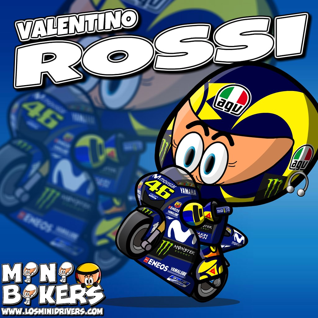 2018 Movistar Yamaha Motogp Valentino Rossi Official
