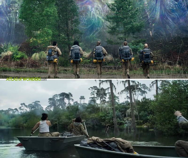 Annihilation where filmed