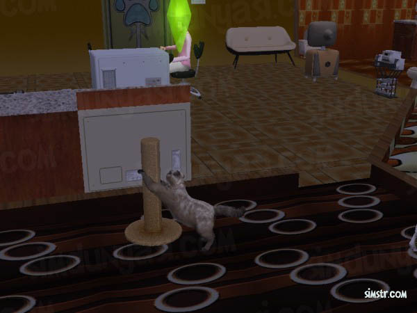 The Sims 2 Pets Scratching Post