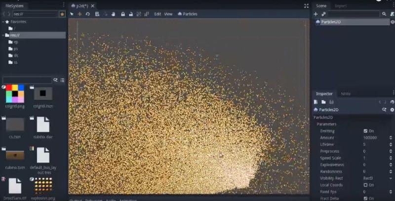 Particulas-mediante-GPU-en-Godot-3.0