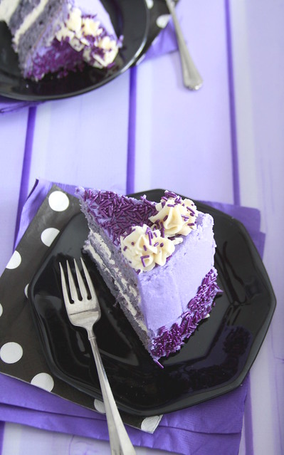 Purple Sweet Potato Cake