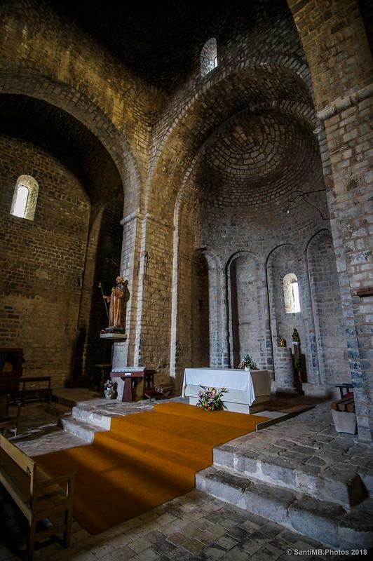 Iglesia románica de Sant Jaume de Frontanyà