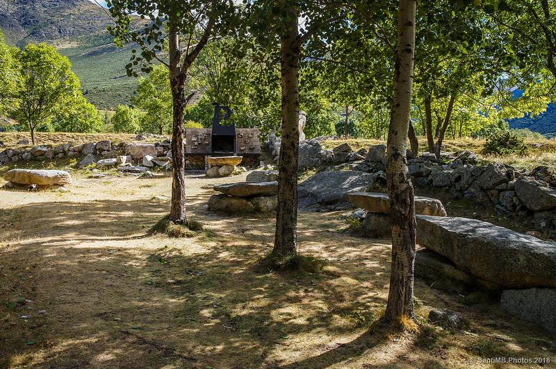 Zona de picnic en el Pla de l'Ermita