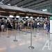 EVA Air check in counters at Suvarnabhumi Airport