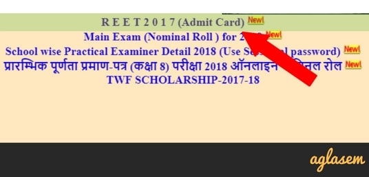 REET Admit Card 2018 Download Here (Released!) | REET Admit Card