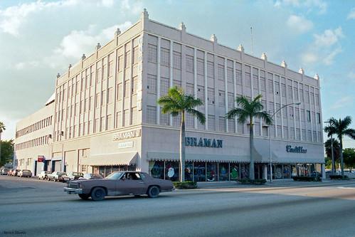 Braman Cadillac, Miami, 1984 | The Cadillac dealership ...