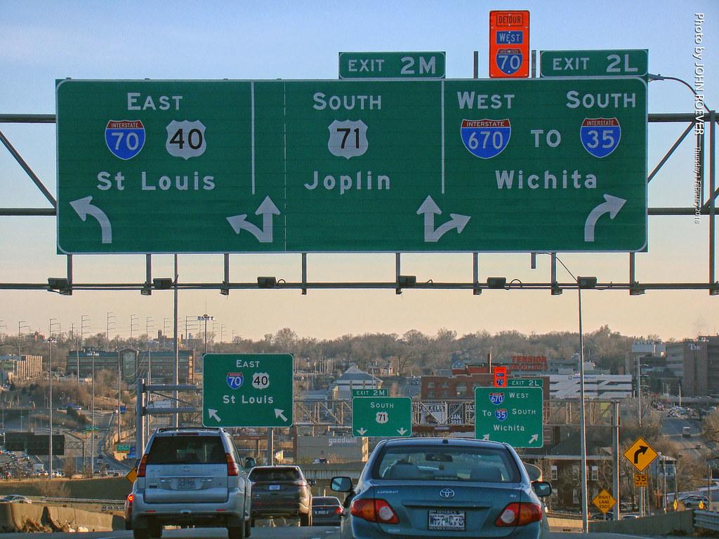 1 I 70 670 US 71 Exit In KC