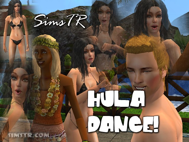 The Sims 2 Bon Voyage Hula Dance