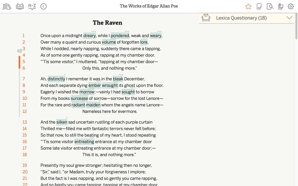 Works Of Edgar Allan Poe Vocabulary And Quiz Questions Flickr