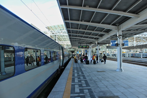KTX train from Busan at Seoul train station | by Timon91