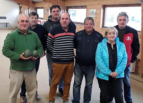 10/03/2018 - Carantec : Concours de boules plombées en doublette mêlée