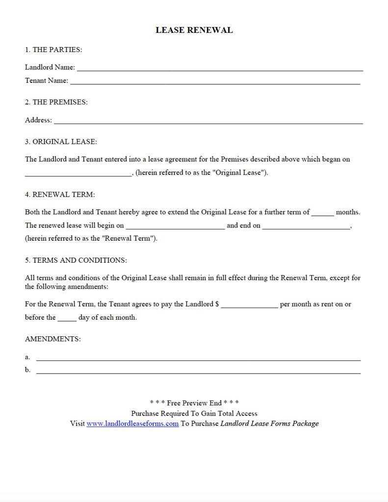 lease renewal landlord lease forms residential rental lea flickr
