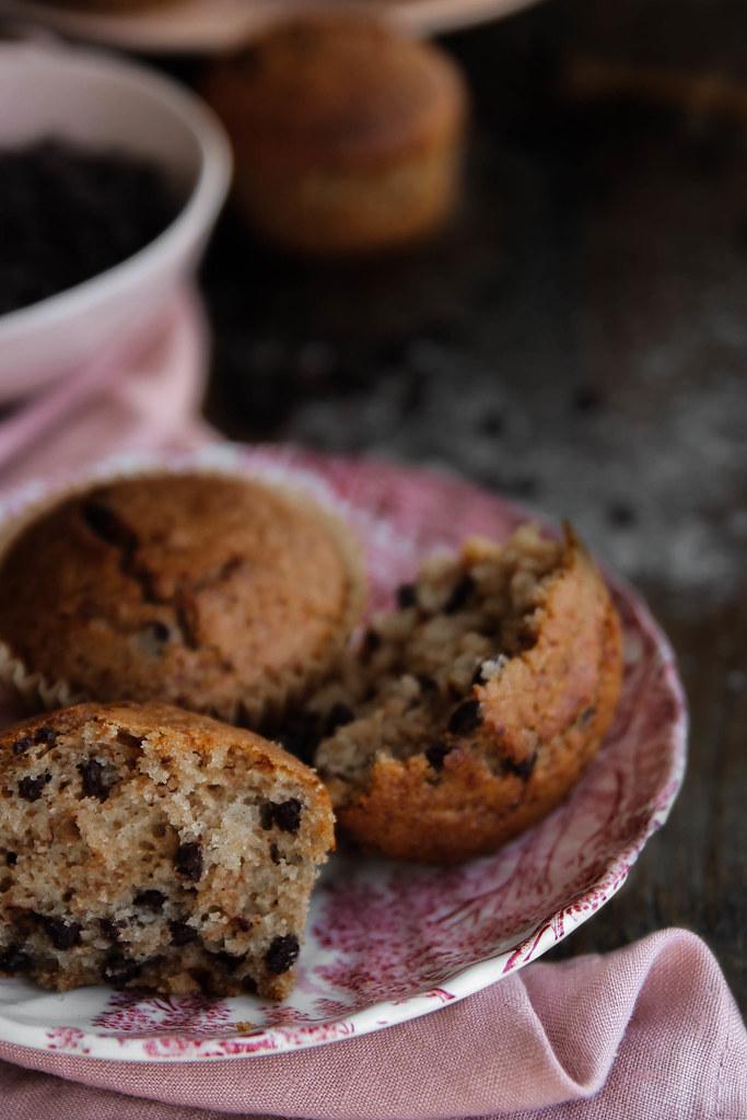 Muffins vegan et sans gluten - recette