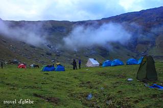 Bhrigu Lake Camping