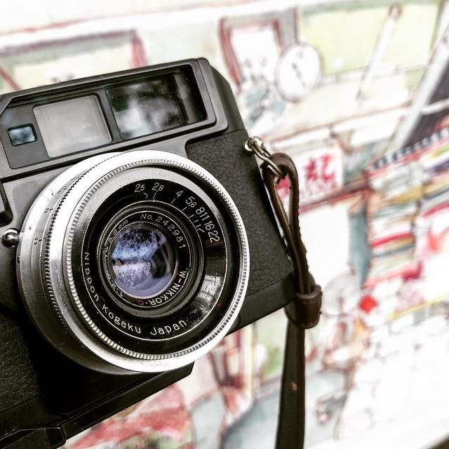 Nikon H.C 3.5cm f2.5 充滿秘密的小廣角
