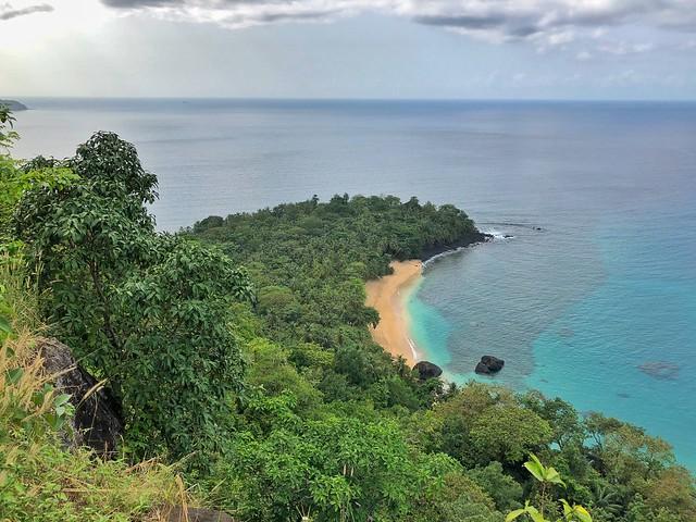 Banana Beach en Príncipe (Santo Tomé y Príncipe)