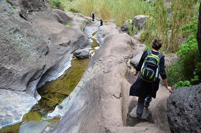 Smooth stones Masca Barranco, Tenerife