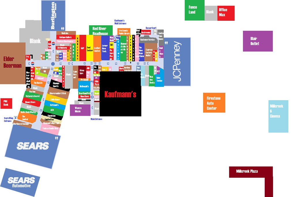 Millcreek Mall Erie Pa Directory Creativehobbystore