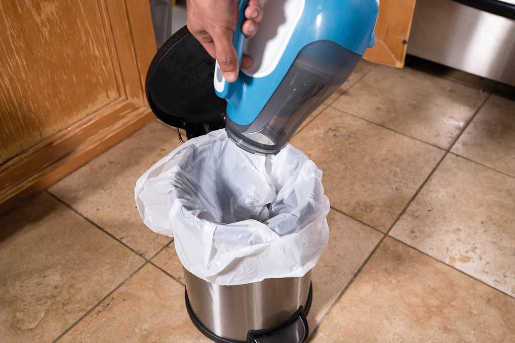 ... Emptying Handheld Vacuum Black + Decker 16V MAX Kitchen Floor   By  Yourbestdigs