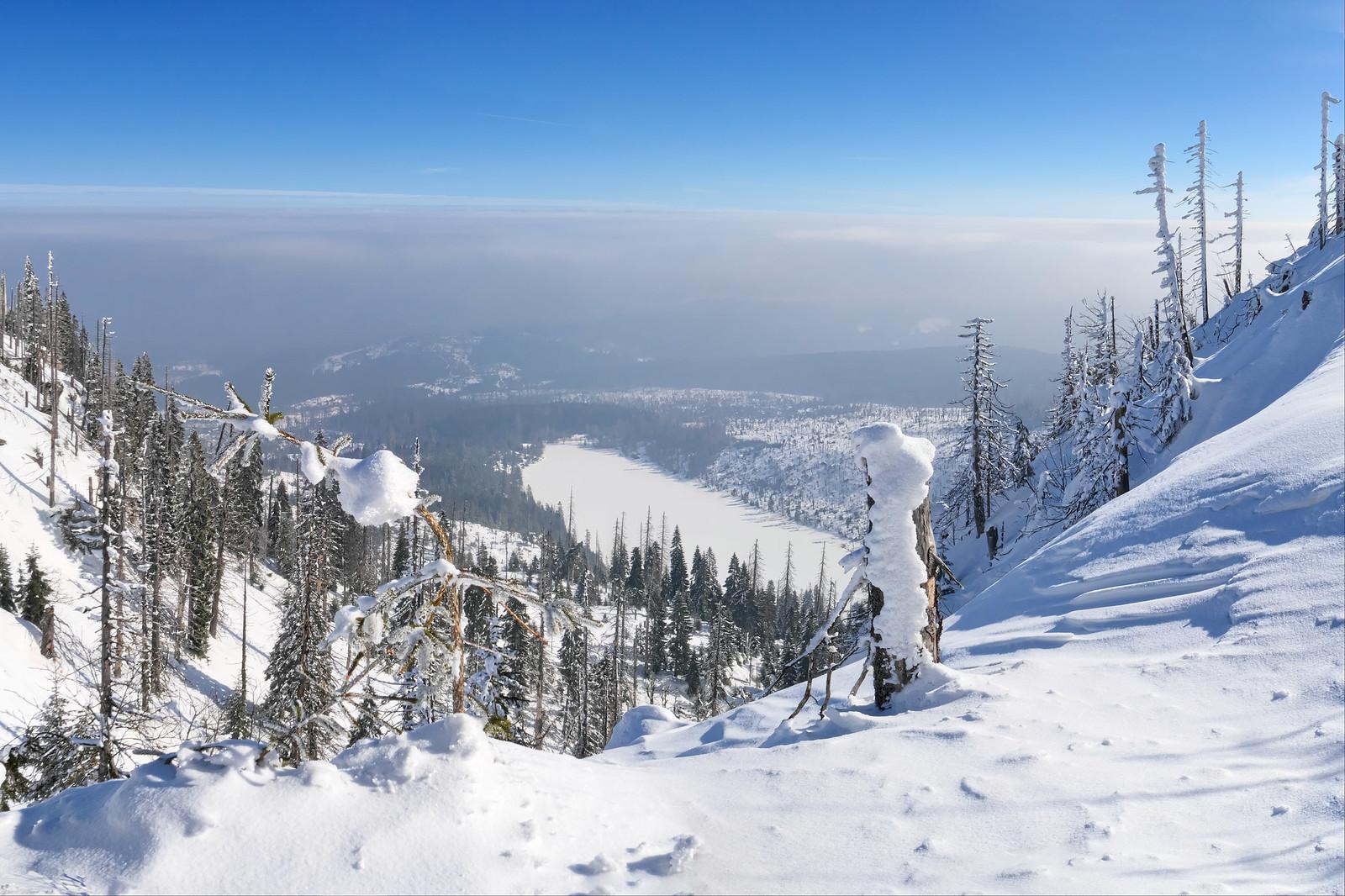 Plešné jezero (Kučerova vyhlídka)