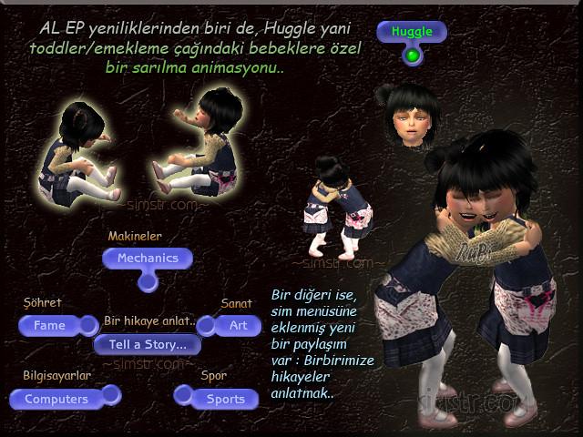 The Sims 2 Apartment Life Apartman Hayatı Toddlers Huggle
