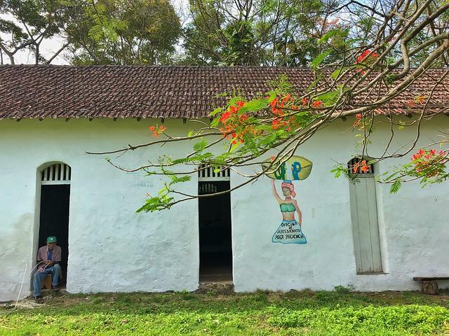 Roça Paciencia en isla de Príncipe (Santo Tomé y Príncipe)