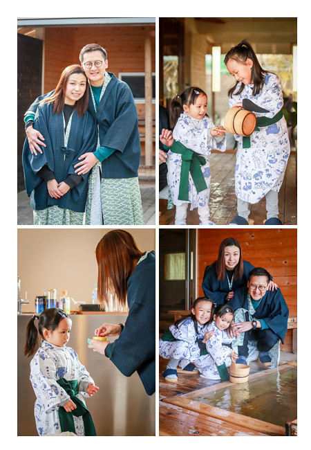 family photo location shooting for a client from Hong Kong in Aquaignis (hot spring spa) in Mie Prefecture, Chubu District, Japan