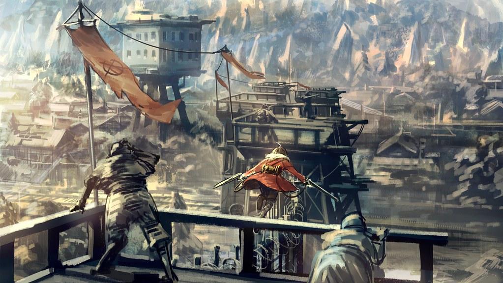 180310 - 續集來了!「荒木哲郎」自編自導劇場版中篇《甲鉄城のカバネリ ~海門決戦~》年內上映、首支PV公開!