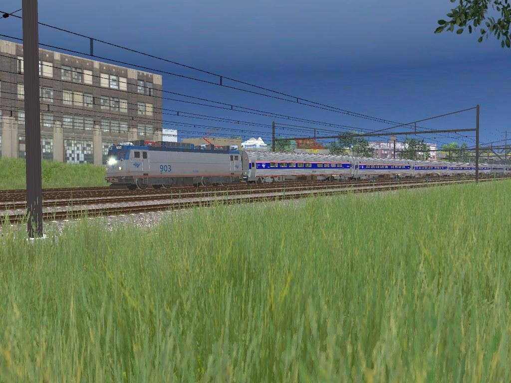 TS2015 HD: Amtrak Northeast Regional Trains @ Westerly