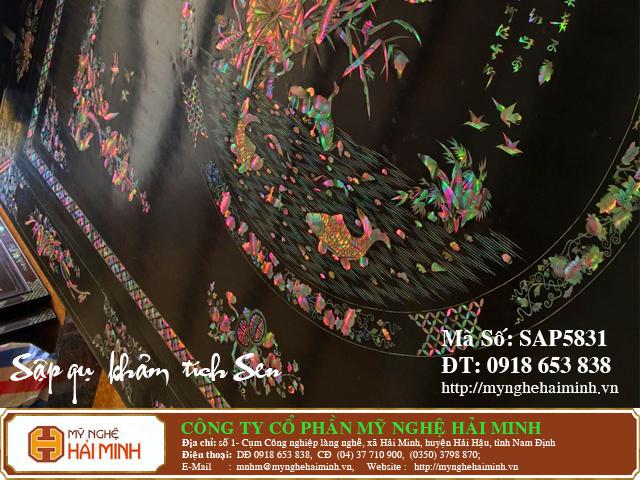 SAP5831b Sap gu Kham Lien Chi Tich Sen do go mynghehaiminh