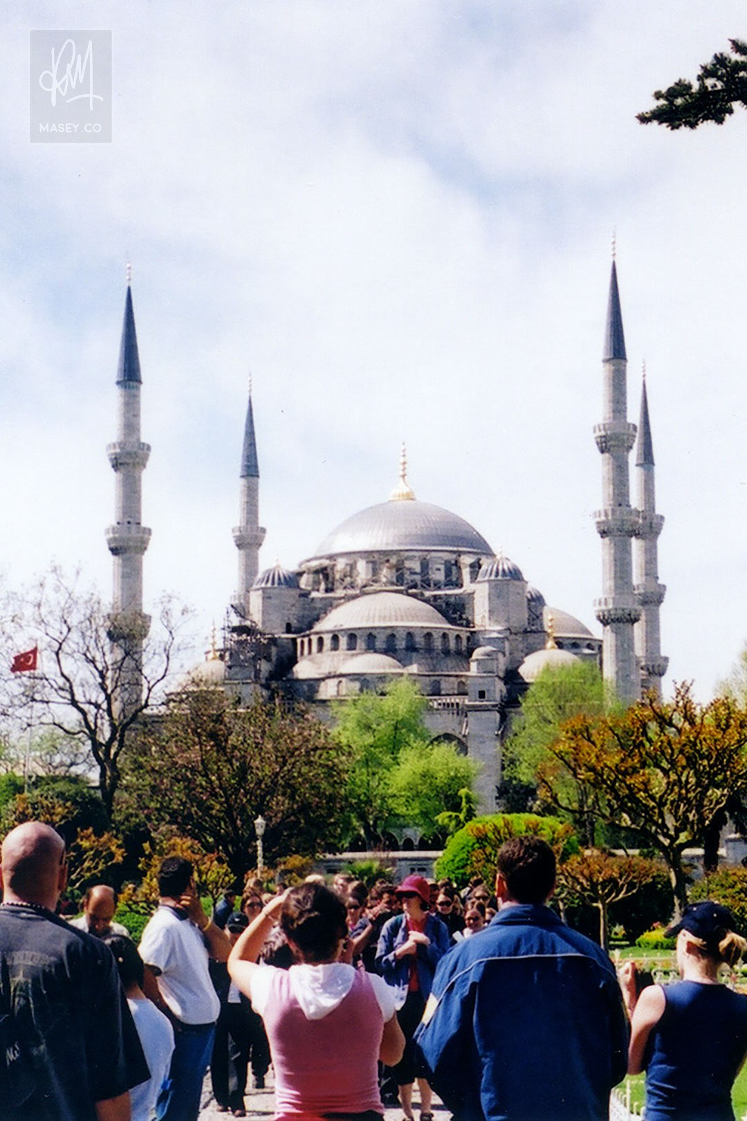 The mightily impressive Blue Mosque of Sultan Ahmet