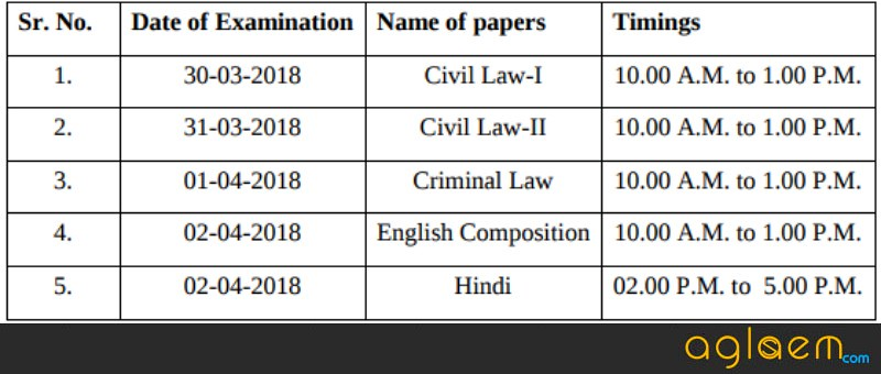 HPJS Admit Card 2018   Download HP Judicial Service Hall Ticket