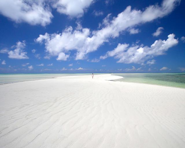 Una de las mejores playas de Maldivas