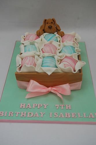 Isabellas Bath Bomb Cake Beautiful Birthday Cakes