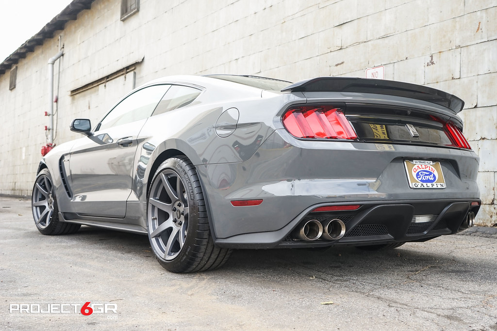 2018 Shelby Gt350 >> Lead Foot Gray Shelby GT350 on Satin Graphite Project 6GR | Flickr