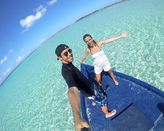 Diario de un Mentiroso navegando por las islas vírgenes del sur de Maldivas