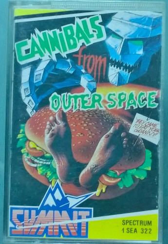 Cannibals from Outer Space (ZX Spectrum, Summit) | by Deep Fried Brains