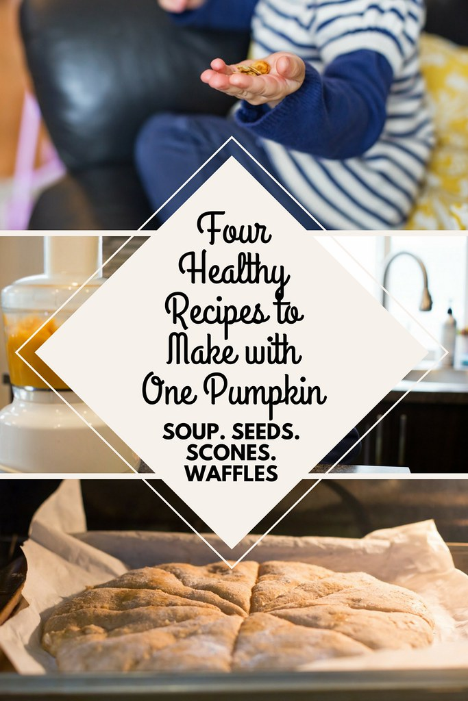 Have you made your own pumpkin puree? It's very easy and saves a lot of money! There are so many healthy recipes to make from just one pumpkin.