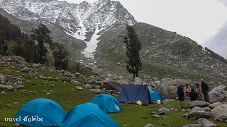 Indrahar Pass Trek via Triund Camps