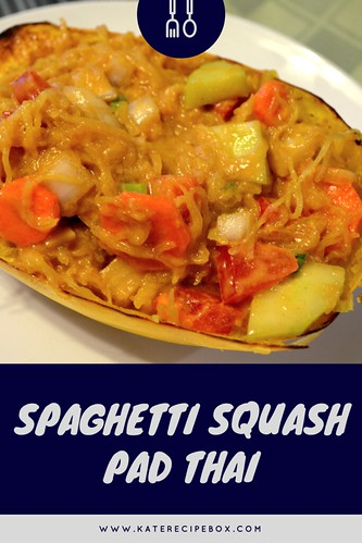 Spaghetti Squash Pad Thai | by katesrecipebox