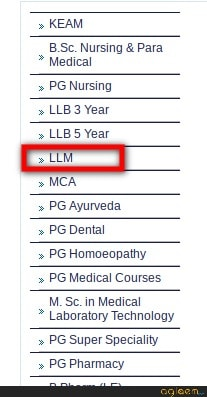 CEE Kerala LLM Answer Key