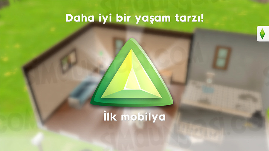 The Sims Mobile Lifestyle Yaşam Tarzı Skoru İlk Mobilya