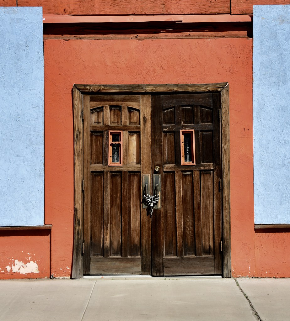 The Doors Of Miami Arizona The Doors Of This Building Ar Flickr