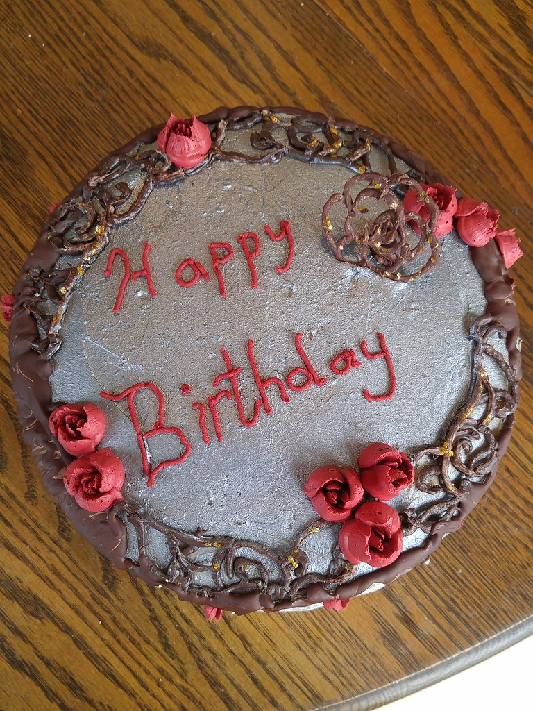 Red Velvet Birthday Cake Another Years Birthday Cake Done Flickr