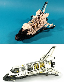 8480 Space Shuttle in microscale | by goldsun19731