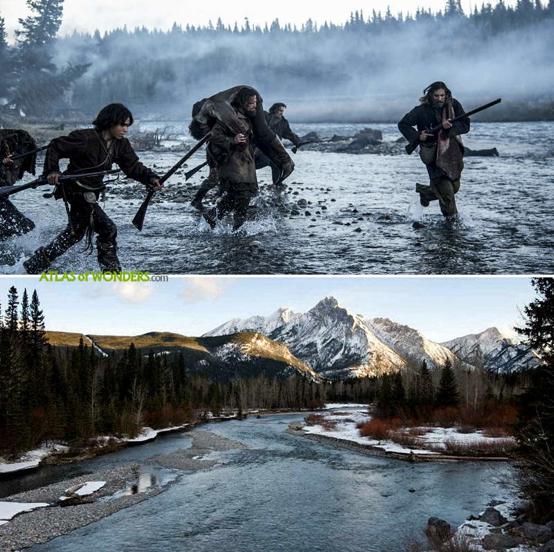 The Revenant Shooting Locations