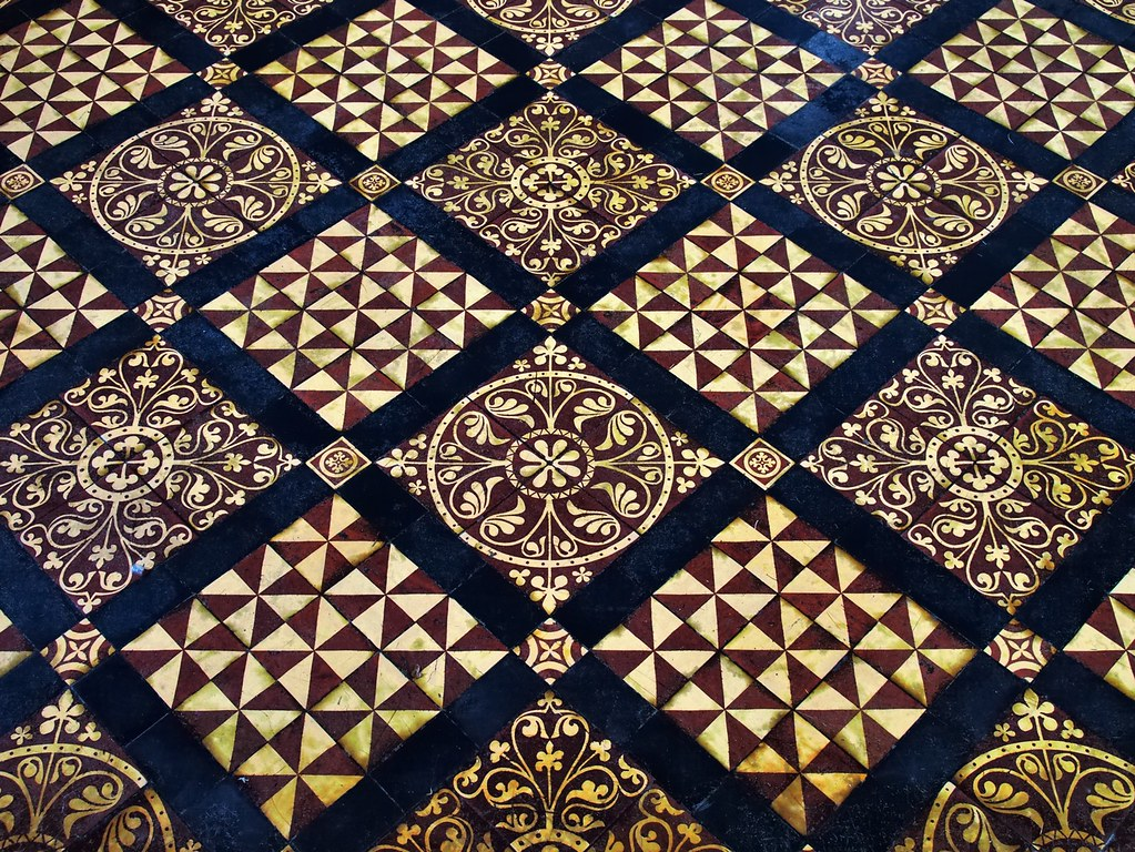 Victorian floor tiles cathedral and abbey church of saint flickr hertfordshire victorian floor tiles cathedral and abbey church of saint alban saint albans hertfordshire dailygadgetfo Image collections