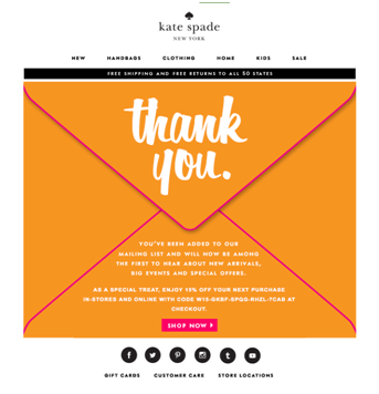 Welcome Emails: How to Engage Customers at the Beginning of Their Journey 3